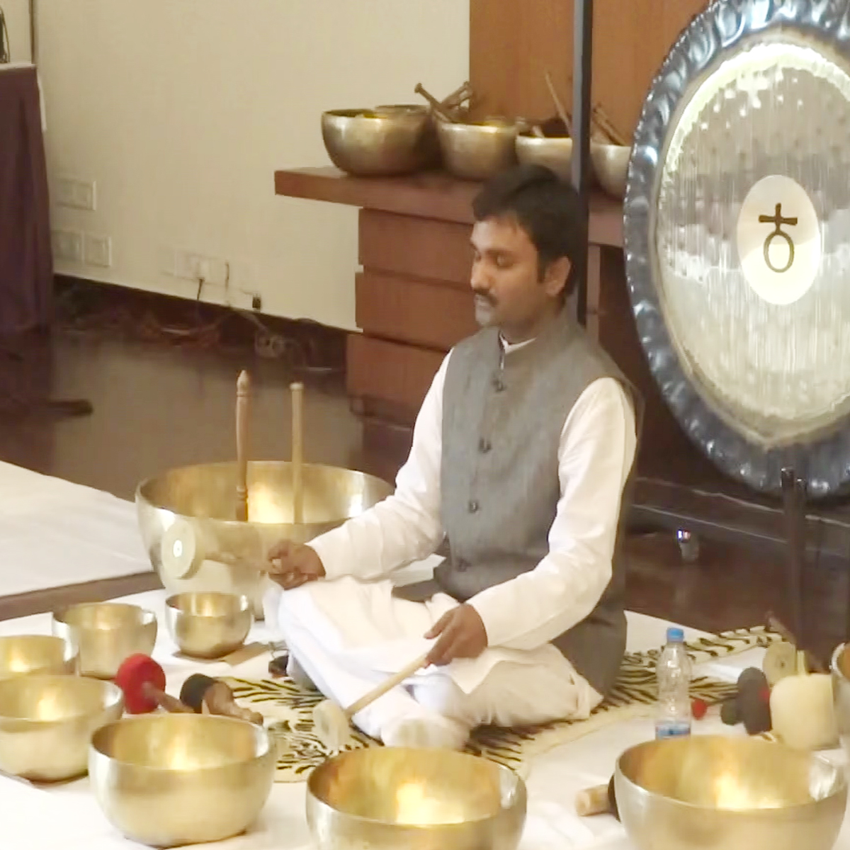 "IASH Sound Bath & Meditation to ""Overcome Addiction"" with Planetary Gong Bells & Singing Bowls, 2nd October, 2018, New York City"