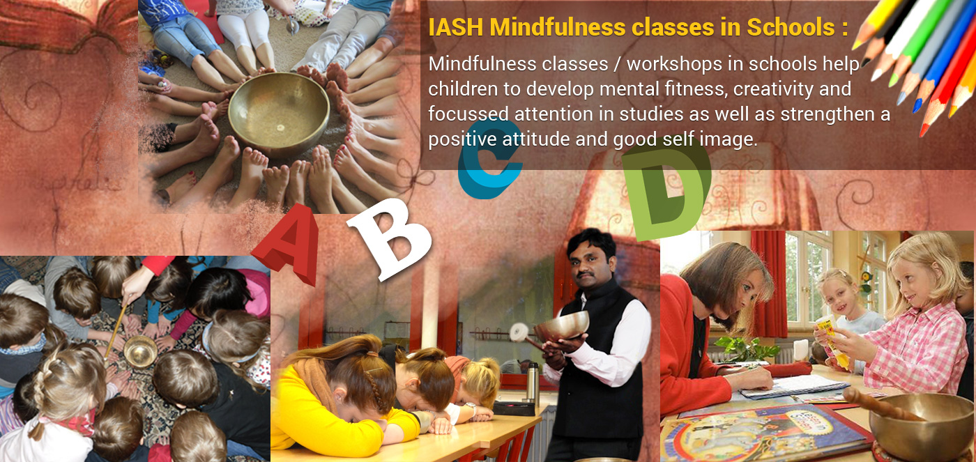 "IASH ""Mindfulness Meditation for Children & Students"" with Planetary Gong Bells & Singing Bowls, October 4, 2018, New York City"
